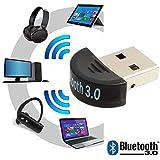 Mini Adaptador USB V3.0 Bluetooth EDR Dongle compatible con Windows Vista 7 8 10