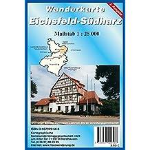 Eichsfeld-Südharz: Rad- und Wanderkarte