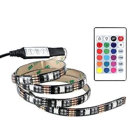 Alxcio Strip LED avec Câble USB DC 5V SMD 5050
