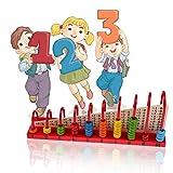 domybest Holz Bead Abacus Labyrinth Toys Baby Kinder Vorschule Math Learning Teaching Perlen Weihnachten Spielzeug von Domybest