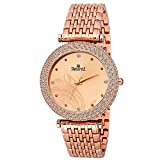 SWISSTYLE Analogue Copper Dial Women's Watch - Ss-Lr249-Cpr-Ch