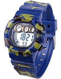 e959d03ac0e8 Wolfteeth 39mm Estuche de plástico para niños Reloj Digital para niños  Reloj Digital Impermeable al Aire
