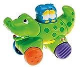 Fisher Price Spielzeug - Infant Amazing Animals Press and Go Gator - Kleinkinder zwischen 6-36 Monaten.