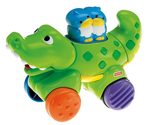 Fisher Price Toy - Infant Amazing Animals Press and Go Gator - Baby Toddler 6-36 Months