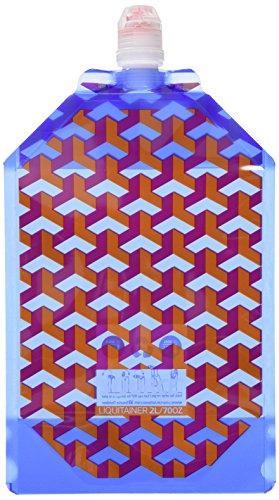 Source Liquitainer Version 2016 Trinkblase, Blau, 2 Liter (16 Tee Drücken)