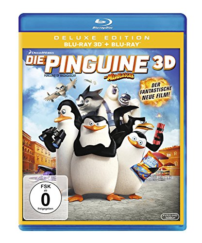 Die Pinguine aus Madagascar [3D Blu-ray] Preisvergleich