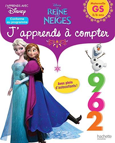 La Reine Des Neiges j'apprends à compter GS