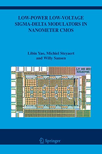 Low-Power Low-Voltage Sigma-Delta Modulators in Nanometer CMOS (The Springer International Series in Engineering and Computer Science Book 868) (English Edition) Cmos Analog Switch