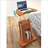 DZYZZ Tavolo da Ufficio, scrivania Mobile Tavolo da Lavoro Portatile Regolabile in Altezza Tavolo da Sollevamento per la casa Scrivania Pieghevole da Lavoro Tavolo da Lavoro Semplice e Piccolo Tavolo