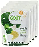 Good Goût - BIO - Brocolis Quinoa Ricotta dès 12 mois 220g - Lot de 4