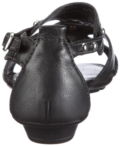 Geox Donna Felisa D11B4B00046C6013, Sandali donna Nero (Schwarz/black)
