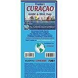 Curacao Guide Map and Fishcard: Tauch- und Schnorchel-Freizeitkarte