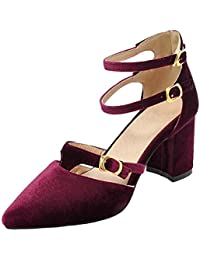Elegant Damen Open Toe Sandalen Pantoletten Wedge Pumps Plateau-Sandal<wbr/>en Slipper