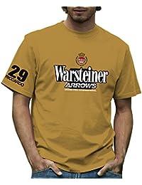 Retro Formula 1 Storico frecce Warsteiner Grand Prix t-Shirt 2ebe0af9fbe