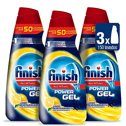 Finish Gel desengrasante - Pack de 3 x 3450 G