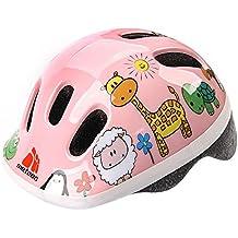 Casco de seguridad pequeño de bicicleta, para niños, color Animals, ...