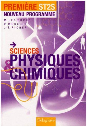 Sciences physiques & chimiques 1e ST2S