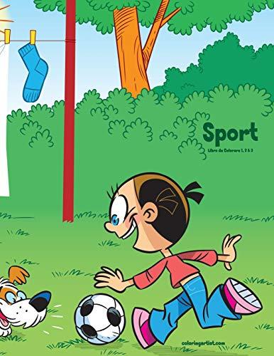 Sport Libro da Colorare 1, 2 & 3 por Nick Snels