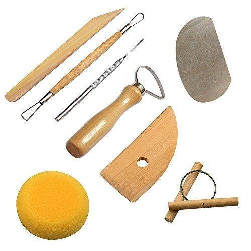 Keramik Werkzeug,YTTX 30pcs Tonwaren Werkzeuge Ton schnitzen Werkzeug Set