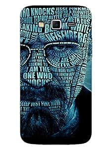 Samsung Grand 2 Back Cover - Breaking Bad Typography - Designer Printed Hard Shell Case