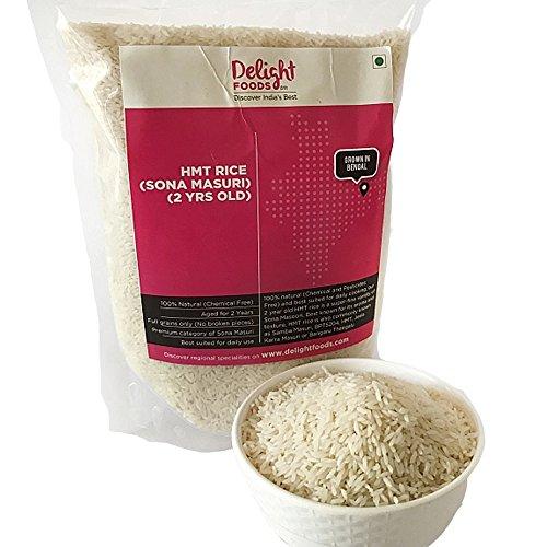 Delight Foods Premium Sona Masuri Rice (2yrs Old) – 1KG