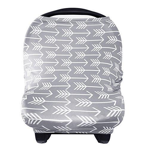Stilltuch Stillschal für Unterwegs Weich Nursing Cover Atmungsaktive Warenkorb Swaddle Decke Pflegeabdeckung für Baby Mutter von YOOFOSS MEHRWEG