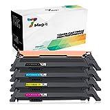 Samsung CLT-404 Toner Multipack , 7Magic Tonerkartuschen Samsung CLT-P404C CLT-K404S CLT-C404S CLT-M404S CLT-Y404S Kompatibel Toner Patronen für Samsung Xpress SL-C430 SL-C430W SL-C480 SL-C480W SL-C480FN SL-C480FW Drucker (Schwarz Cyan Gelb Magenta, 4 Pakets)