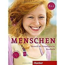 Menschen Sechsbandige Ausgabe: Kursbuch A1/1 MIT DVD-Rom