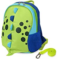 Yodo Playful Kids Lunch Boxes Carry Bag or Preschool Toddler Backpack, with Safety Harness Rein, Insulated Lining inside