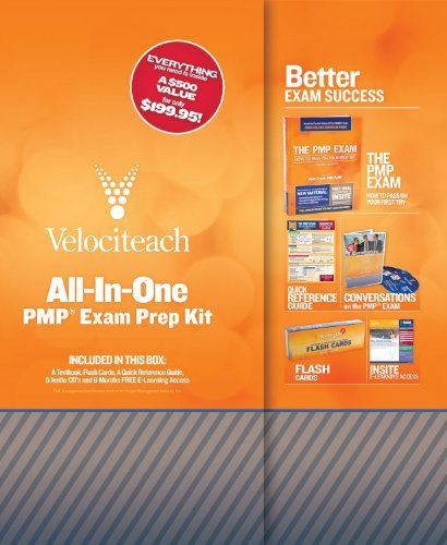 Portada del libro All-in-One PMP Exam Prep Kit (Test Prep series) by Andy Crowe PMP PgMP (2010-11-01)