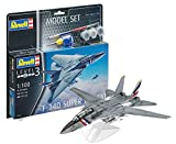 Revell Model Set- Maquette d'avion en Model Set F-14 D Super Tomcat, 63950...