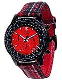 DETOMASO Herren-Armbanduhr Chronograph Quarz DT1071-A