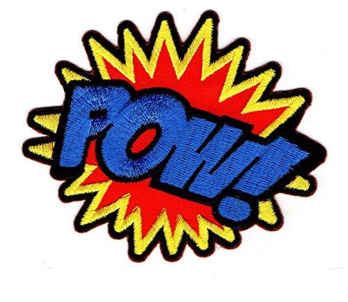 School Kostüme Disney Old (Powder, Sound Comic Cartoon Formulierung Cartoon Kids Kinder Cartoon Patch für Heimwerker-Applikation Eisen auf Patch T Shirt Patch Sew Iron on gesticktes Badge Schild)