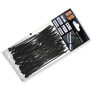 Arbeitsbedarf24 100 STK. Kabelbinder 920x9,0 mm schwarz Nylon66 Zugkraft: 80 Kg Qualitätware