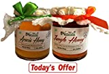#9: Farm Naturelle 100% Pure Raw Natural Honey-2X 250 Gms Jungle/Forest Honey And Acacia Honey Combo