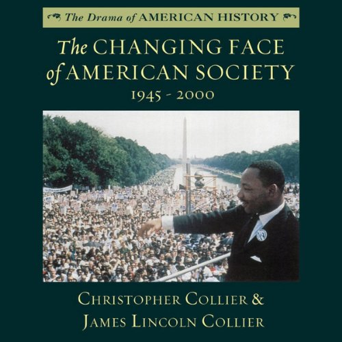 The Changing Face of American Society 1945 - 2000  Audiolibri