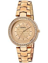 Austere Premium Quality Rose Gold Color Analog Women's Watch With Metal Chain: AWW-KTA-171717