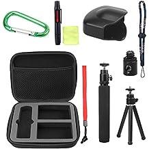 Maletín de accesorios 10 en 1 para cámaras Theta M15 y Theta S de Holaca Ricoh