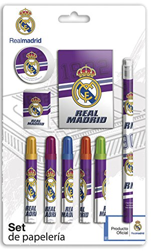 Real Madrid Set papeterie 9 pièces (CYP Imports gs-408-rm)