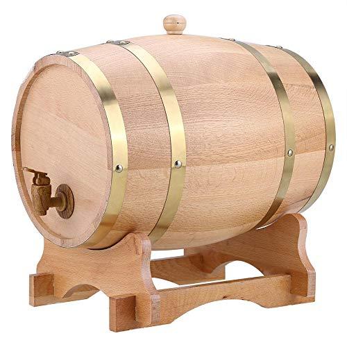 El barril de roble se utiliza para almacenar vino fino, brandy, whisky, tequila, etc. Impresione a sus invitados y agregue un toque de refinamiento a su hogar con el barril de whisky de madera. El barril ofrece una forma única y creativa de almacenar...