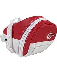 LTG sacoche de selle sacoche arrière pour selle vélo imperméable réfléchissante rouge