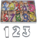 Jumbo Number Cookie Cutter Set