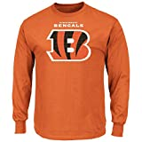"Cincinnati Bengals Majestic NFL ""Critical Victory 2"" Men's Long Sleeve T-Shirt"