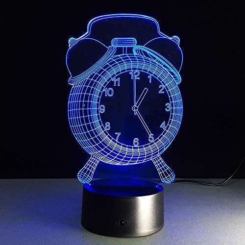 Colorido despertador luz Visual luz de Noche lámpara de mesa Con botón táctil bebé luz de sueño Regalo de Fiesta para niños fuera del Barco