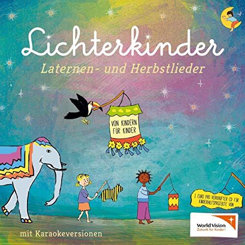 Laternen- und Herbstlieder mit den Hits Ich geh mit meiner Laterne und Lichterkinder