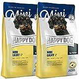 Happy Dog 2 x 4 kg Supreme Mini Light Low Fat