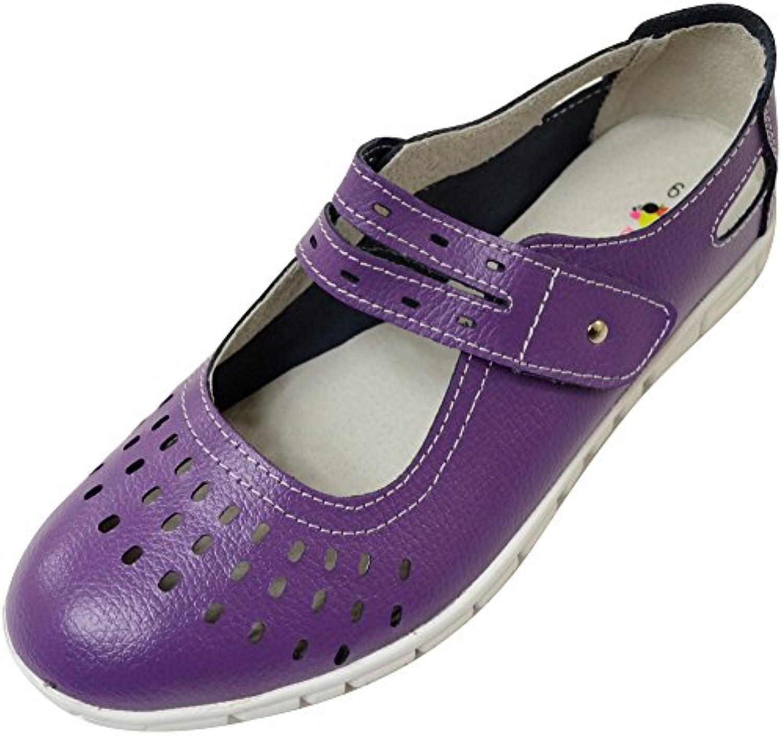 Absolute Footwear - Mocasines de Piel para mujer