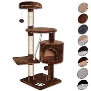 dibea arbre chat marron 112 cm cuisine maison. Black Bedroom Furniture Sets. Home Design Ideas