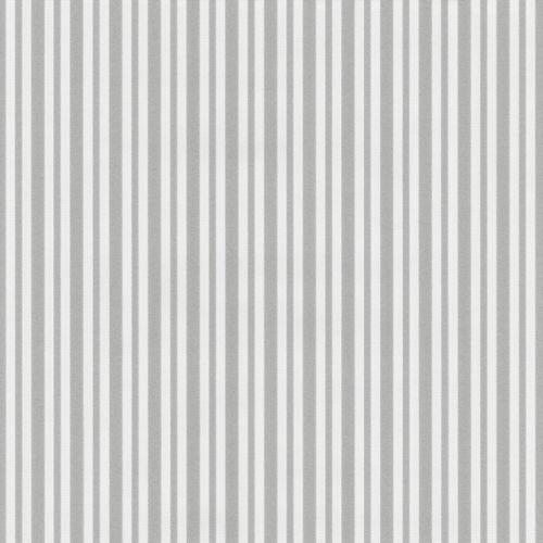 P+S Hypnose Vlies Tapete 13397-30 Streifen weiß silber glitzer