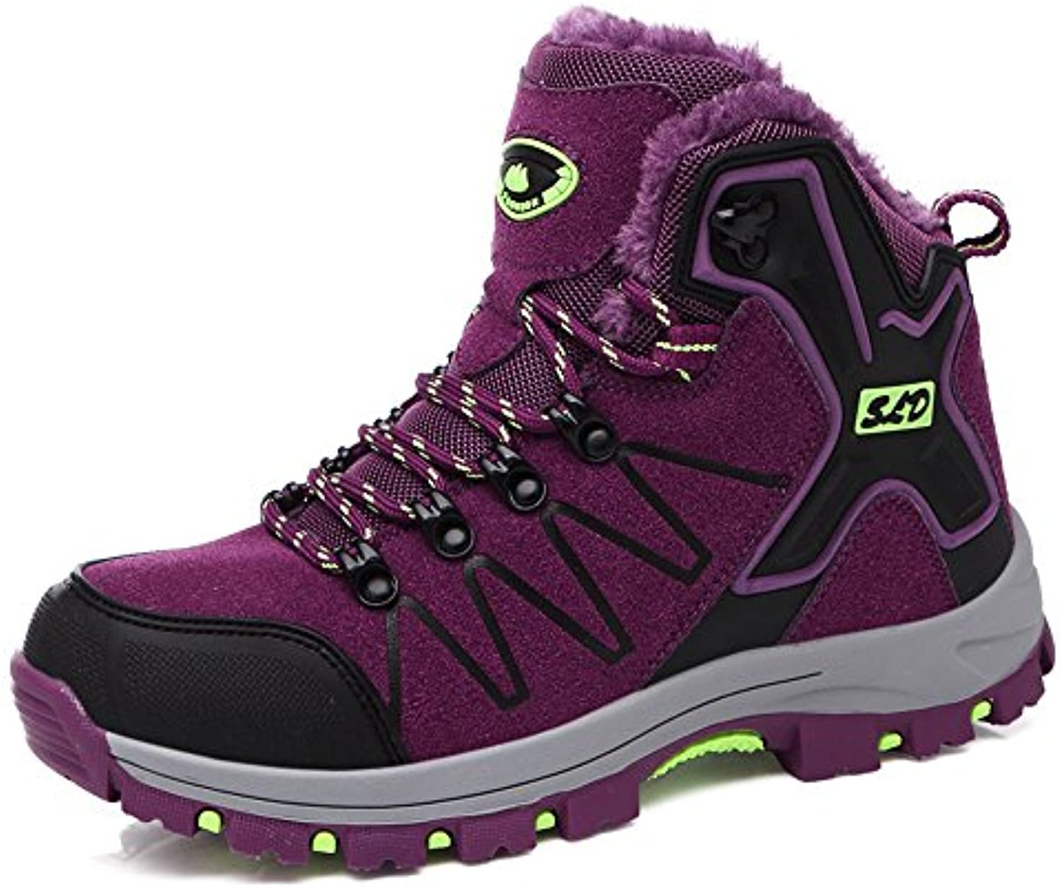 TUCSSON Botas de Senderismo Impermeables para Mujeres,de ocio al Aire Libre Zapatos de Deporte Zapatillas de Senderismo